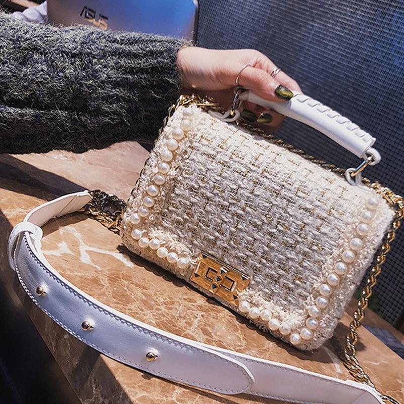 fa88c482a08b Detail Feedback Questions about BENVICHED Brand Crossbody Bags For Women  2019 Winter Luxury Handbags Women Bags Designer Messenger Bag Wool bolsa  feminina ...