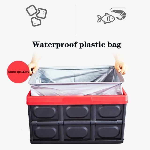 new car Car trunk storage Waterproof bag car storage bag storage box car organizer  size 43*30*23 cm freeshipping
