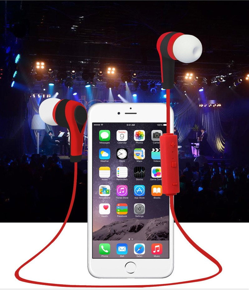 Newest colorful Bluetooth V4.1 Wireless sport Earphone With Microphone, 2 appliances available at the same time