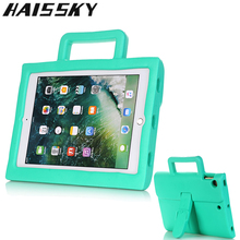 Get more info on the Briefcase Case For iPad Air 2 iPad 5 6 Cover Cute Silicone Case For iPad Pro 9.7 Handle Stand Tablet Case For iPad 2018 9.7 2018