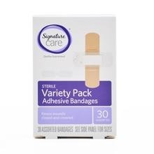 90 piezas/3 cajas de paquete de la variedad vendas adhesivas estéril Primeros Auxilios tamaños surtidos mariposa adhesivo