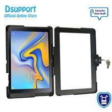 Customer-Made Aluminum Alloy Tablet PC wall mounted Anti Theft design Display Stand With Security Lock for SAMSUNG TAB A 10.5 стоимость