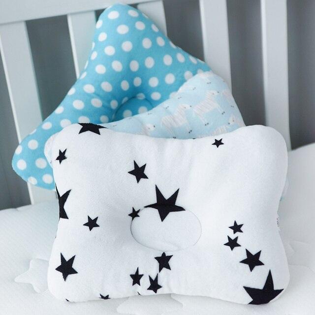 Muslinlife 1Pcs Bedding Baby Kids Pillow Anti Roll Sleeping Pillow Neck Head Baby Pillow Multifunctional Dropship 2
