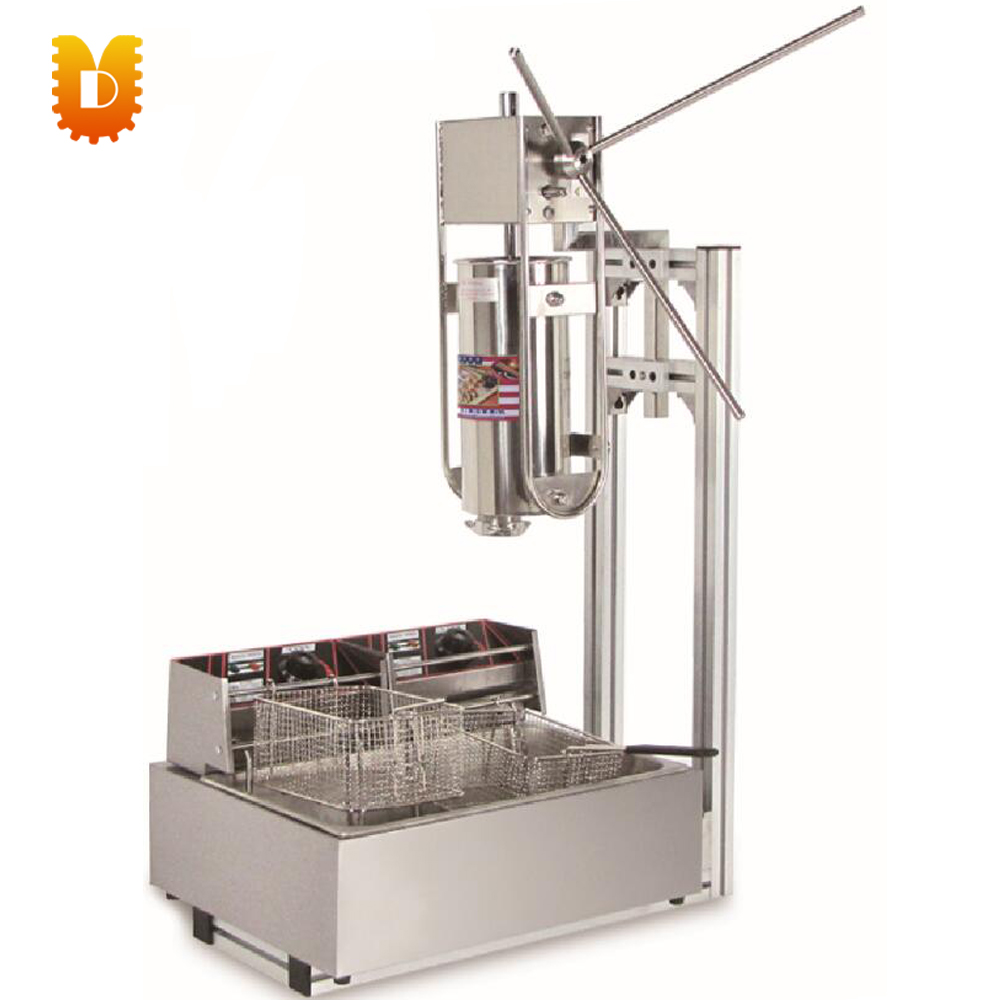 Spain churros maker churros making machine with 12L electrical fryer salter air fryer home high capacity multifunction no smoke chicken wings fries machine intelligent electric fryer