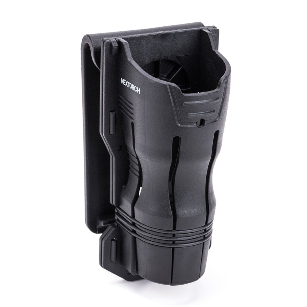 NEXTORCH 360 Degree Tactical Flashlight Holster Angle Rotatable Duable Flashlight Holder V6 For 27mm-30mm Diameter Flashlight