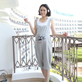Summer Cartoon Maternity Overalls Jumpsuit Pregnant Grey Rompers Clothing For Pregnancy Causal Suspender Capris Pants Plus Size