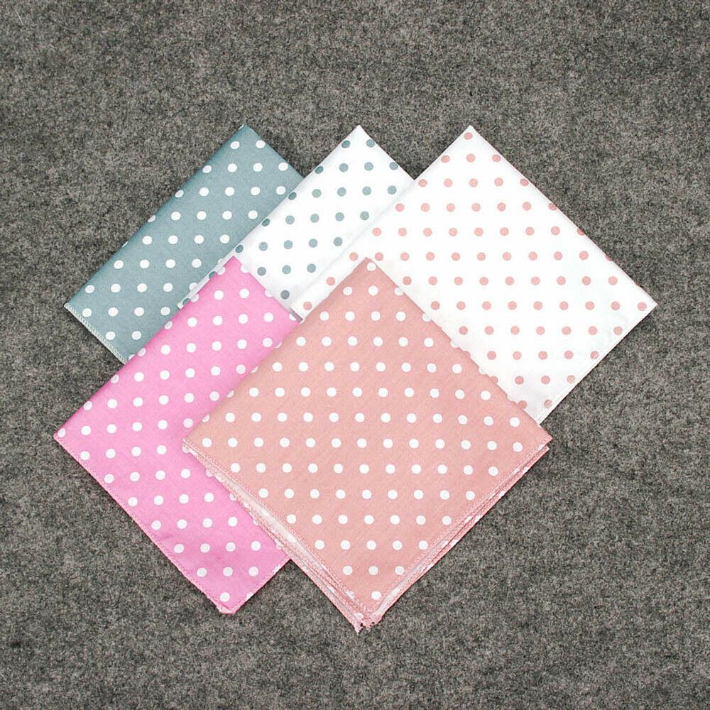 Men's Stylish Polka Dot Pocket Square Wedding Party Classic Hanky Handkerchief YFTIE0194