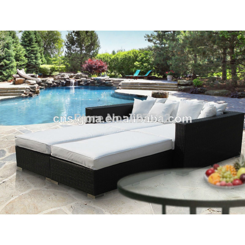 Modern Patio Rattan Outdoor Pool Bed In Garden Sofas From Furniture On Aliexpress Alibaba Group