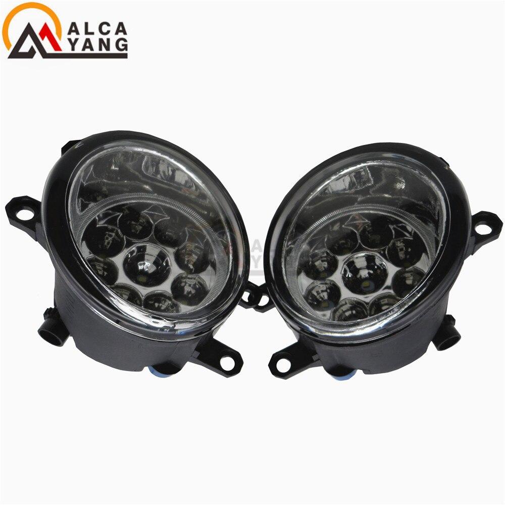 Malcayang Angel Eyes Auto styling LED Nebelscheinwerfer Lichter Für ...