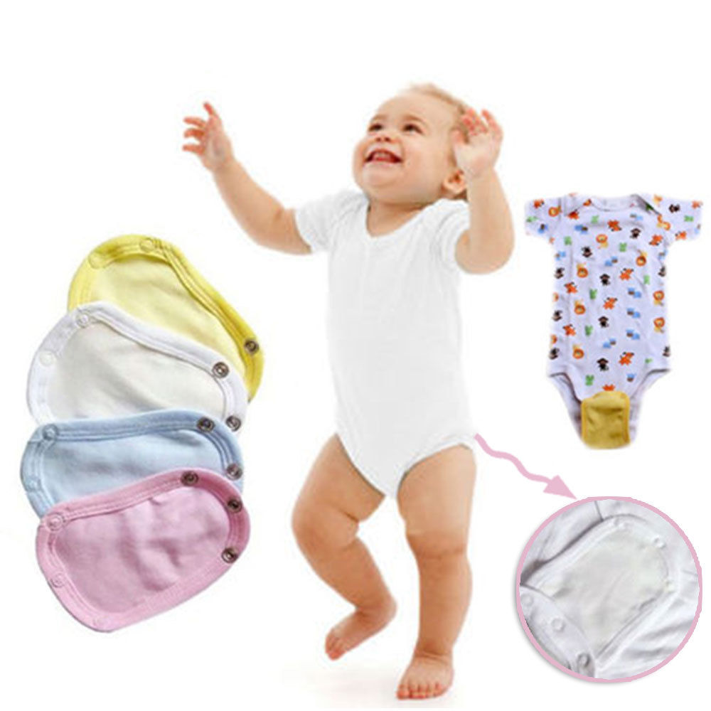 Cotton Romper Film Film Cotton Bodysuit Jumpsuit Newborn Casual Lengthen Extended Baby Solid For Extended Baby Lengthen Mother & Kids