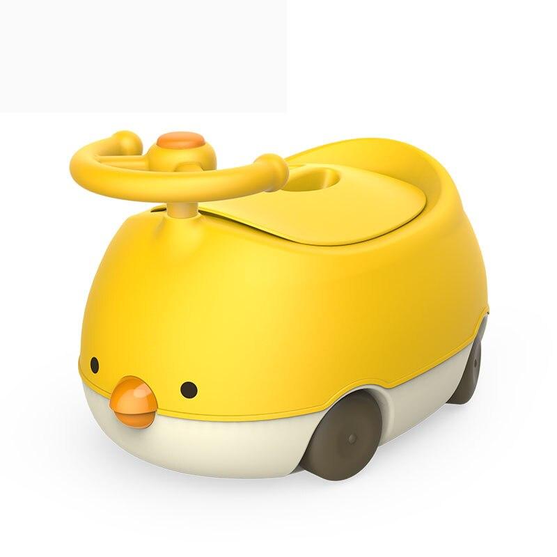 Bébé Pot toilette formation siège Portable dessin animé poulet enfant Pot formateur enfants voyage bébé Pot chaise en plastique enfants Pot