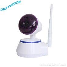 HD 720 P Беспроводной Веб-Камера Аудио камеры наблюдения Wifi Micro SD камара Беспроводной p2p IP МИНИ PTZ щенок-дом камара
