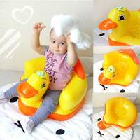 Baby Inflatable Feeding Chair Children S Portable Seat Sofa Infant Game Dining Bathing Chair Plastic Transat