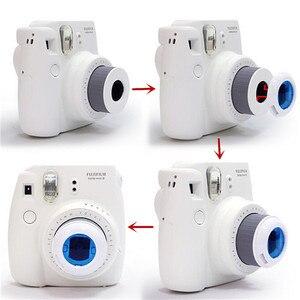 Image 5 - 3 Sets Gekleurde Filters Close Up Lens Voor Fujifilm Instax Mini 9 Mini 8 7 S Kitty Instant Schieten Camera