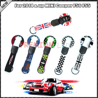 1 Union Jack Style Key Case Cover Shell W Lanyard For 3rd Gen MINI Cooper