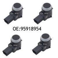 New SET(4) 95918954 PDC Parking Sensor Bumper Object Reverse Assist Radar For GMC|parking sensor|sensors parking radar|sensor parking -