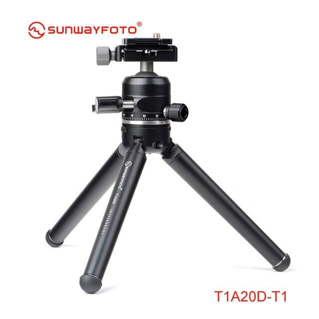 SUNWAYFOTO T1A20D T Mini trípode profesional Para soporte