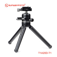 SUNWAYFOTO T1A20D T Professional Mini Tripod for Camera Stand Para Movil Tripodes Dslr Phone Accessories with