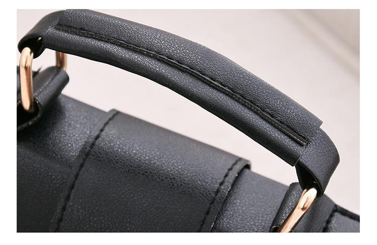 Women Bag Leather Handbags PU Shoulder Bag Small Flap Crossbody Bags for Women Messenger Bags 30