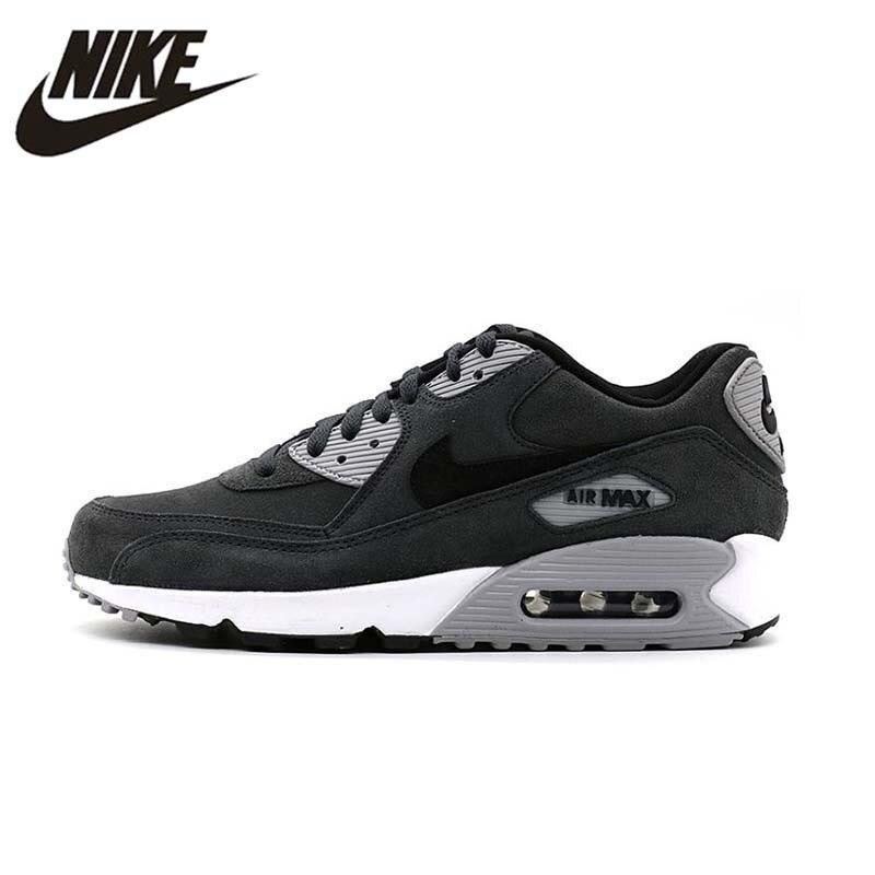 141b9473 NIKE AIR MAX 90 Оригинал Новое поступление дышащие кроссовки для мужчин s  удобные кроссовки для мужчин