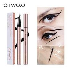 O.TWO.O impermeable profesional delineador de ojos líquido de gato de belleza Negro estilo de larga duración delineador de ojos lápiz de maquillaje cosméticos herramientas