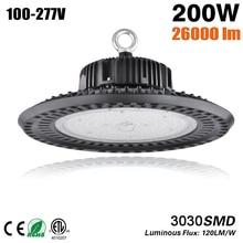 цены на LED UFO High Bay Light Lampen Industrieel Garage High Bay Led Light 100W 150W 200W Waterproof IP65 Five-Year Warranty  в интернет-магазинах
