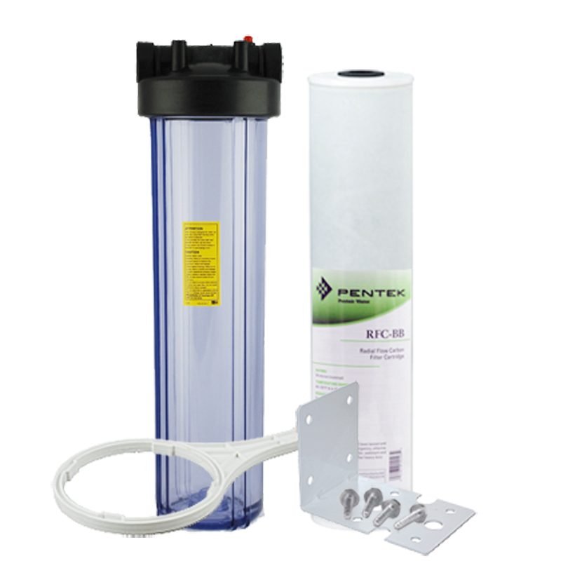 "Здесь продается  20"" Heavy Duty Water Filter Kits Point of Entry Sediment and Carbon Combination Filter  Бытовая техника"