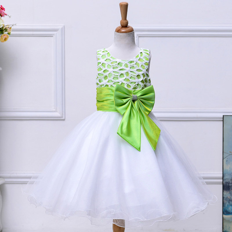 Summer new Kids Princess Dress Children Girls evening wear With Bow Wedding Prom Dresses Birthday Party Gown Embroidery Organza new summer multi layered prom ball evening wear girls dresses wedding princess dress girl children clothing kids clothes dress