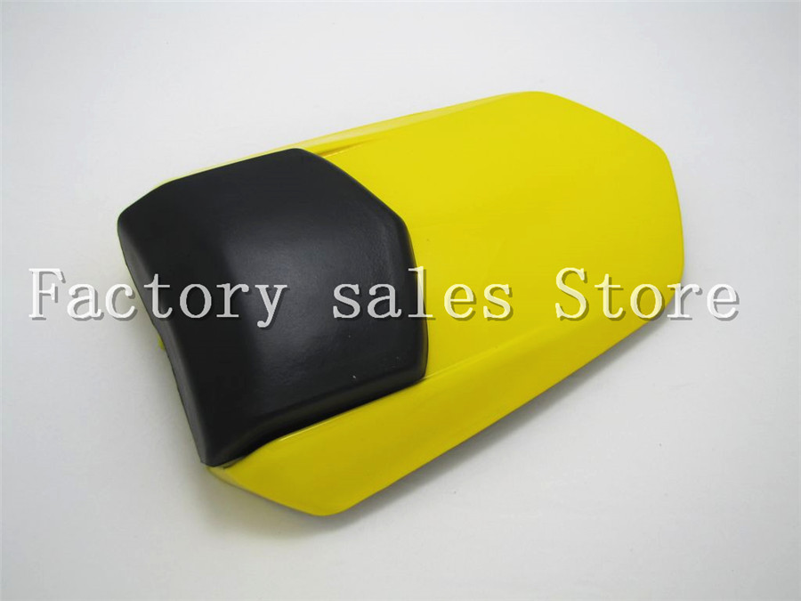 For Yamaha YZF1000 YZF 1000 R1 2004 2005 2006 Yellow Rear Seat Cover Cowl Solo Racer Scooter Seat Motorcycle Motorbike YZFR1