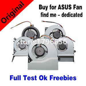 New CPU Cooling Cooler Fan For Asus S400C X402C F402C X502C S300C S500C A550V X550C X552C X552E N53S N53J N73S N73J G551J N551J(China)