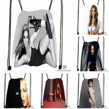 Custom Beyonce Drawstring Backpack Bag for Man Woman Cute Daypack Kids Satchel (Black Back) 31x40cm#180531-01-04