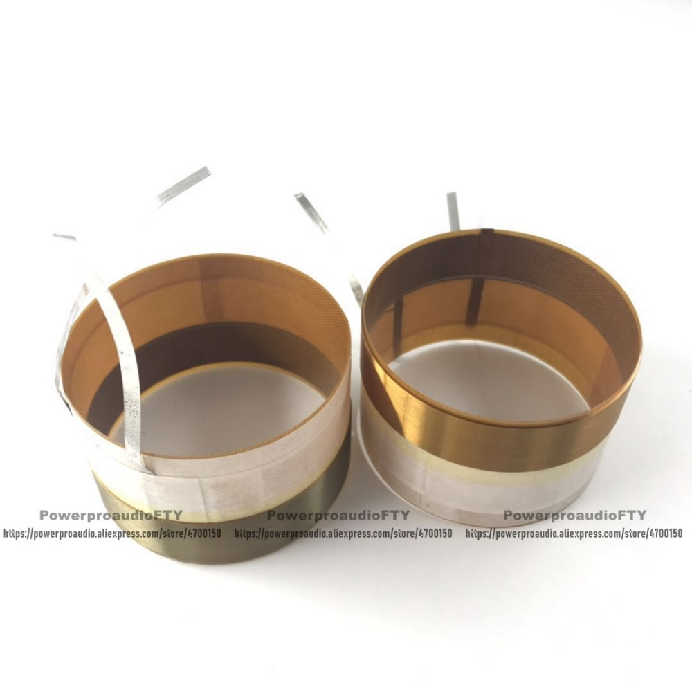2PCS High Quality Voice coil For B C 10MD26 8 LOUDSPEAKER 76 2mm 3inch HIGH 50