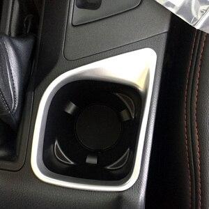 Image 2 - Sólo para la mano izquierda coche para Toyota RAV4 2016, 2017, 2018 Interior mate taza de agua, titular de la cubierta del Trim marco 1 piezas