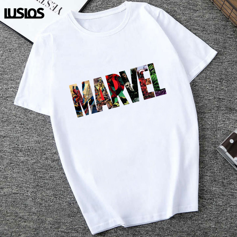 Unisex Printing Loose T Shirt Short Sleeve Casual Tops Blouse Tee Plus Size 2019