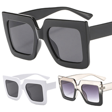 Oversized Sunglasses Men Women Luxury Brand Designer Gradient Sun Glasses Shades