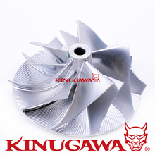 Kinugawa Turbo Billet Compressor Wheel 46 02 58mm 5 5 Reverse for Mitsubishi TD04HL 19T for