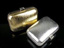 8598A Burst metallischen muster Lady Fashion Night clutch abendtasche geldbörse handtasche IN FREIER VERSAND