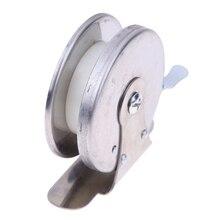5.5cm Dia. Mini Metal Ice Fishing Pole Line Reel Rods Fishing Line Wheel Shrimp Lightweight Bait Casting Fishing Reels