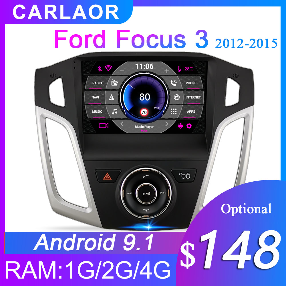2 din Android gps for Ford Focus 3 2012 2013 2014 2015 2Din Car Radio Tape