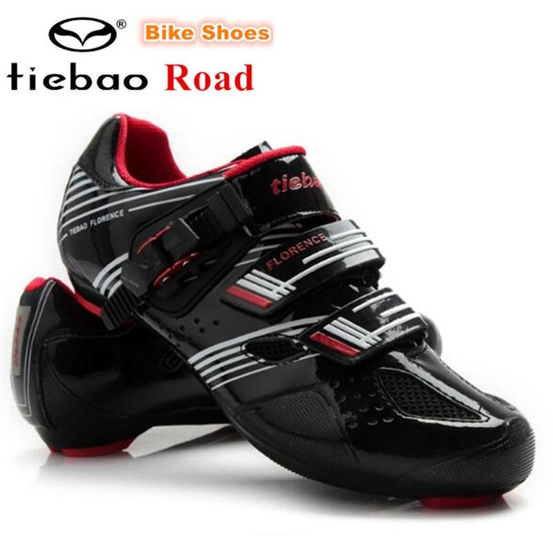 TIEBAO Road Cycling font b Shoes b font self locking font b Bicycle b font font
