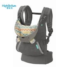 מנשא קלע נייד ילד כתפיות תרמיל עיבוי הכתפיים 360 ארגונומי הסווטשרט קנגורו מנשא