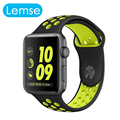 Lemse 2016 correa de la nueva llegada para apple smart watch 1 y 2 generación smartwatch venda de reloj de 38mm 42mm