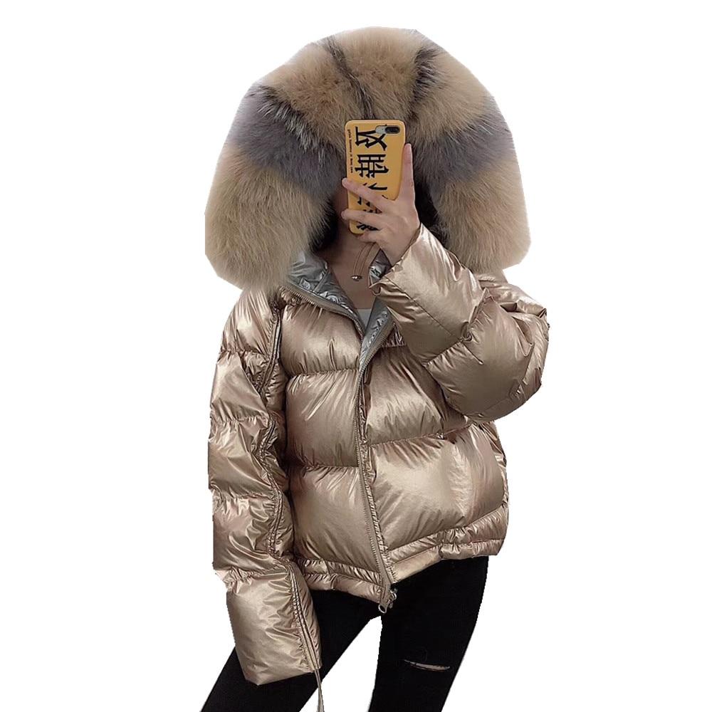 Canard Manteau Picture Veste As Vêtements Chaud De Bas Réel Vers Femmes Col Fourrure 2018 Survêtement Épais Picture Fox Mode Parka D'hiver Le Duvet as RHdnXRqg