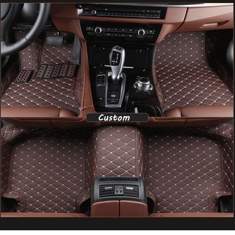 Car <font><b>floor</b></font> mats for <font><b>escape</b></font>, car mat black beige gray brown for <font><b>ford</b></font>
