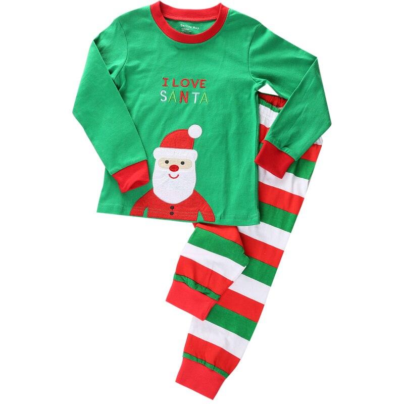 6c4d4efb4e Nuovi pigiami di natale per bambini per bambini pigiama di natale babbo  natale deer stampa boy girl sleepwear pigiami pigiama per bambini in Nuovi  pigiami ...