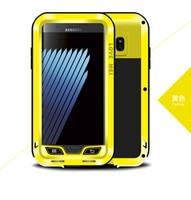 100 Original Love Mei Powerful Case For Samsung Galaxy Note7 Note 7 Waterproof Dirtproof Shockproof Aluminum