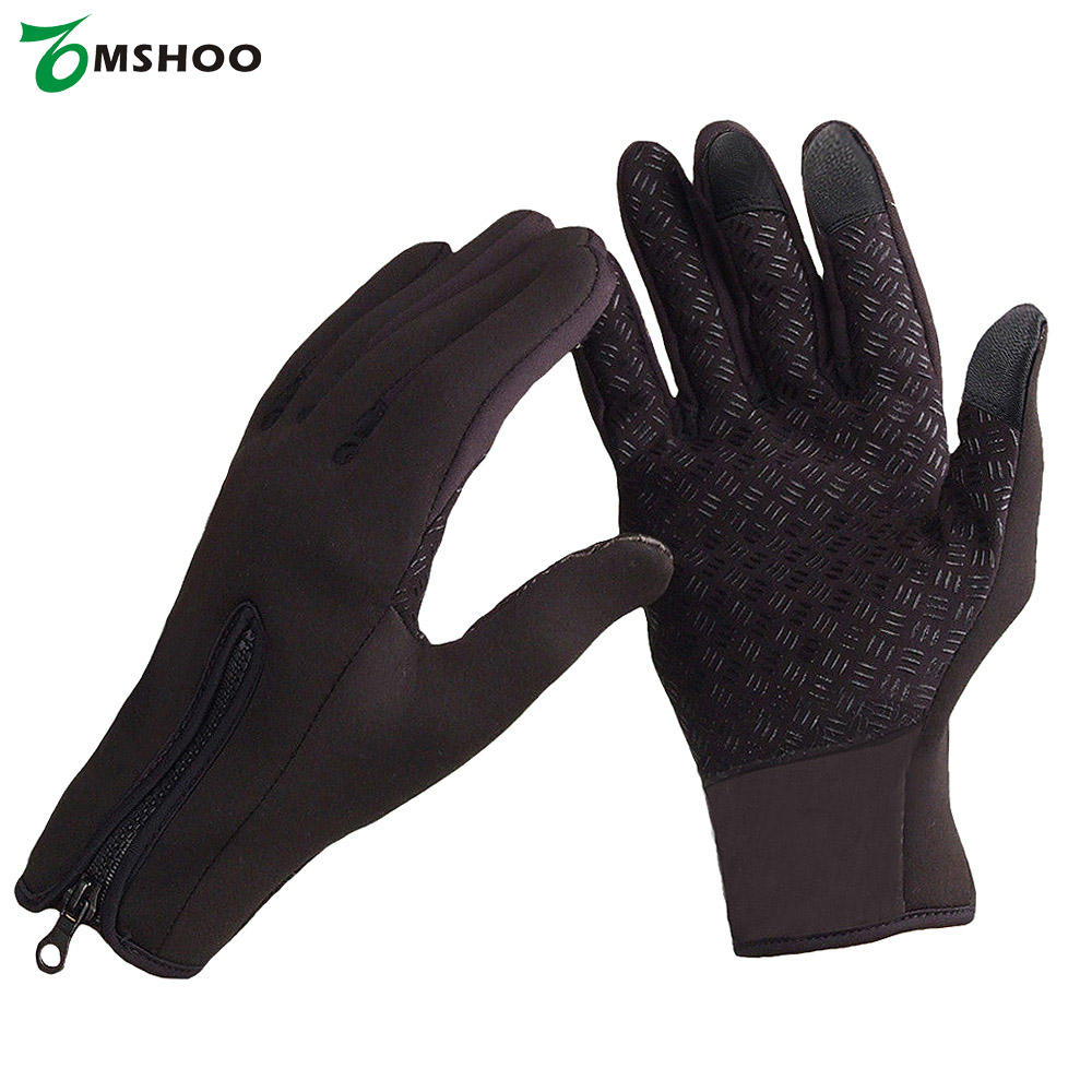 Mens ski gloves xl - Winter Brand Women Men S M L Xl Ski Gloves Snowboard Gloves Motorcycle Riding Windproof Snow Windstopper Touch