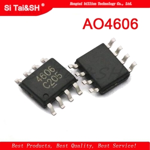 10PCS AO4606 MT4606 SI4606 STC4606 N+PMOS SOP8 integrated circuit