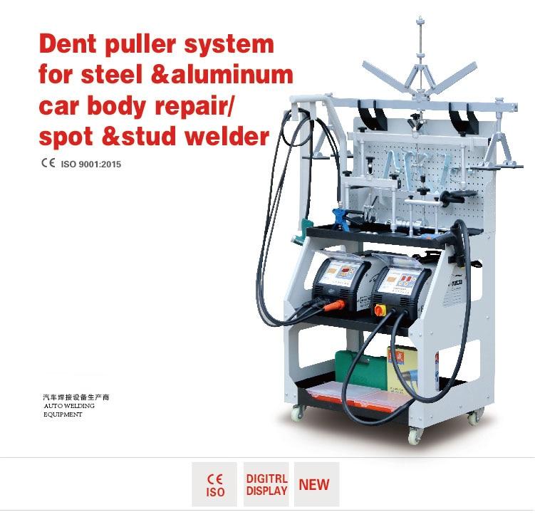 US $1680 0 |car body repair/spot &stud welder Aluminum & Steel dent  puller/Spot welder-in Sheet Metal Tools Set from Automobiles & Motorcycles  on