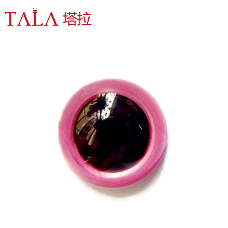 Handmade Plastic Colored Eyes 100Pcs 8mm-18mm Safety Animal Doll Eyes Free Shipping